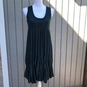 Dresses & Skirts - dark green dress